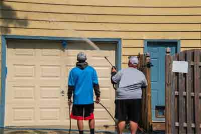 How to adjust side mounted garage door springs