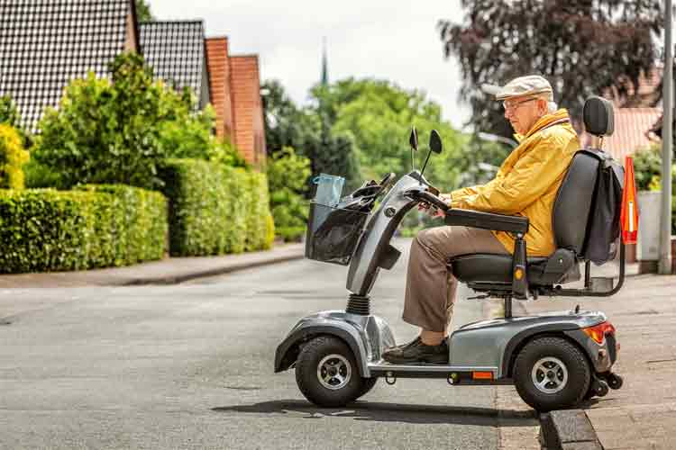 Mobility Scooters Can Make Your Body Worse