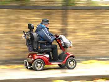 getting a mobility scooter